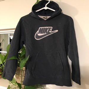 Nike Obsidian Blue boys hoodie, size medium